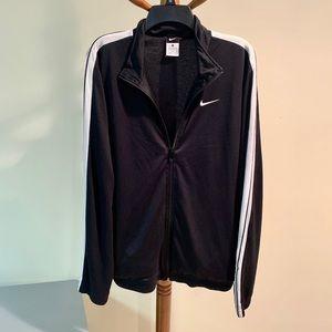 Nike Excellent Condition Black Zip Front Jacket